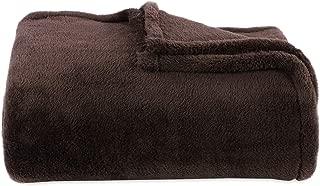 Berkshire Blanket Original Extra-Fluffy Bed Blanket, King, Chocolate