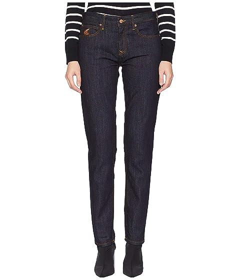 Vivienne Westwood Drainpipe Jeans in Blue Denim