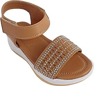 Footstreet Panga Sole Kids Ankle Strap Fancy Sandal