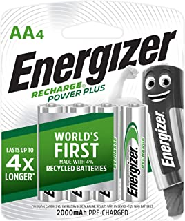 Energizer Energizer Recharge Universal NH15URP4 AA (Packaging may vary), 4ct