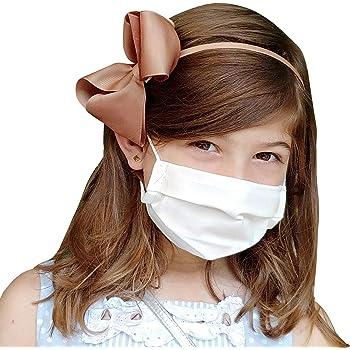 Pack 2x Mascarilla Higiénica Reutilizable UNE 0065 Tela 100% Algodón - Niño 6-9 años S - BFE 98% - Lavable Antialérgica - Homologada en España - Cottonblock: Amazon.es: Industria, empresas y ciencia