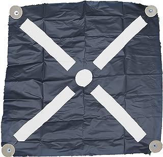 Mutual Industries 15500-0-36 Pre-Made Aerial Target, Bullseye, 36