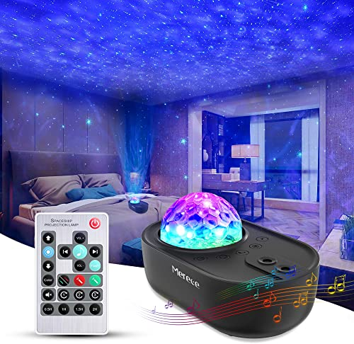 wholesale 3 in 1 Star Galaxy Projector, sale Night Light Projector Bluetooth Music Speaker, Remote Control new arrival & 5 White Noises for Bedroom/Party/Decor, Timer Starry Projector for Kids, Adults Black sale