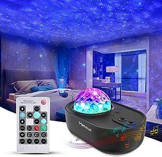 پروژکتور کهکشان 3 در 1 ستاره ، بلندگوی موسیقی بلوتوث پروژکتور نور شبانه ، کنترل از راه دور