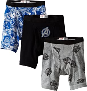 Fruit of the Loom Little Boys' Funpals The Avengers Boxer Brief (Pack of 3)