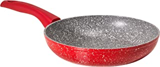 "Bialetti Madame Rubino Universal Pan, 9.45"", Grey/Red"