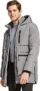 Orolay Men's Thickened Down Jacket Hooded Winter Coats with 6 Pockets