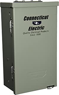 Connecticut Electric CESMPSC55GRHR 50-Amp RV PNL with 20-Amp GFCI Receptacle