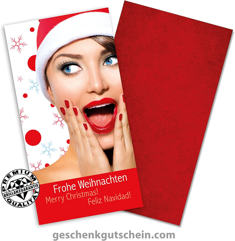 25 Stk. Weihnachtskarten mit passenden KuGrüns XK271 B011296DIK   | Ermäßigung
