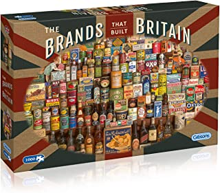 The Brands that Built Britain 1000 Piece Jigsaw Puzzle   Sustainable Puzzle for Adults   Premium 100% Recycled Board   Gre...