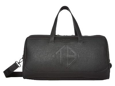 Ted Baker Jokar Embossed PU Holdall (Black) Briefcase Bags