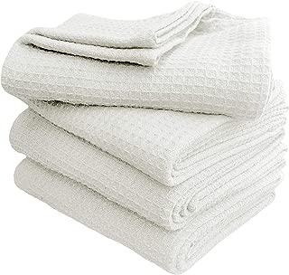 Waffle Weave Blanket Twin 60x90 inch- White,Cotton Blanket,Twin Blanket,White Blanket,Throw Blanket,Life Confort Blanket,Soft Blanket,All Season Cotton Blanket,Breathable Blanket,Summer Throw Blanket