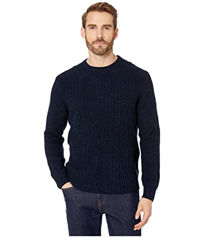 The Normal Brand Kennedy Speck Crew Sweater (Navy) Men