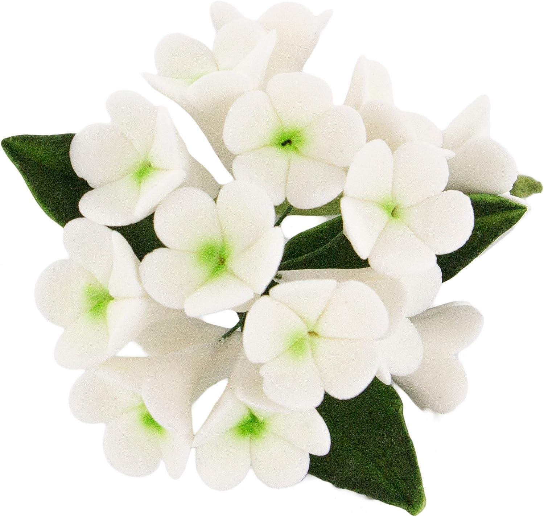 Global Sugar Art Stephanotis At the price of surprise New York Mall Spray Flowers 3 White C Cake