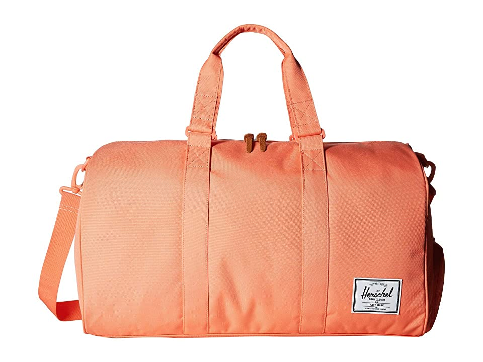 Herschel Supply Co. Novel (Fresh Salmon) Duffel Bags, Orange