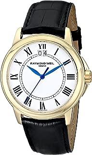 Men's 5476-P-00300 Tradition Analog Display Swiss Quartz Black Watch