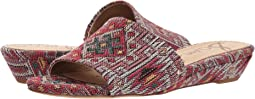 샘 에델만 Sam Edelman Liliana,Red Multi Navajo Weave Fabric
