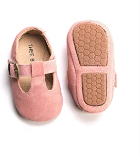 Infant Toddler Baby Soft Sole Leather Shoes for Girls Boys Walking Sneakers