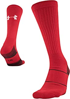 Under Armour Youth Team Crew Socks, 1-Pair