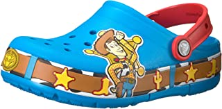 Crocs Kids' Boys & Girls Toy Story Woody Light-Up Clog