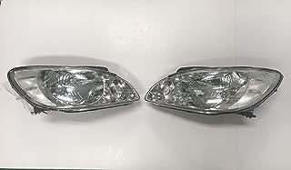Automotiveapple 921011C500 921021C500 Head Light Lamp Assy for 2006 2011 Hyundai Getz New Click