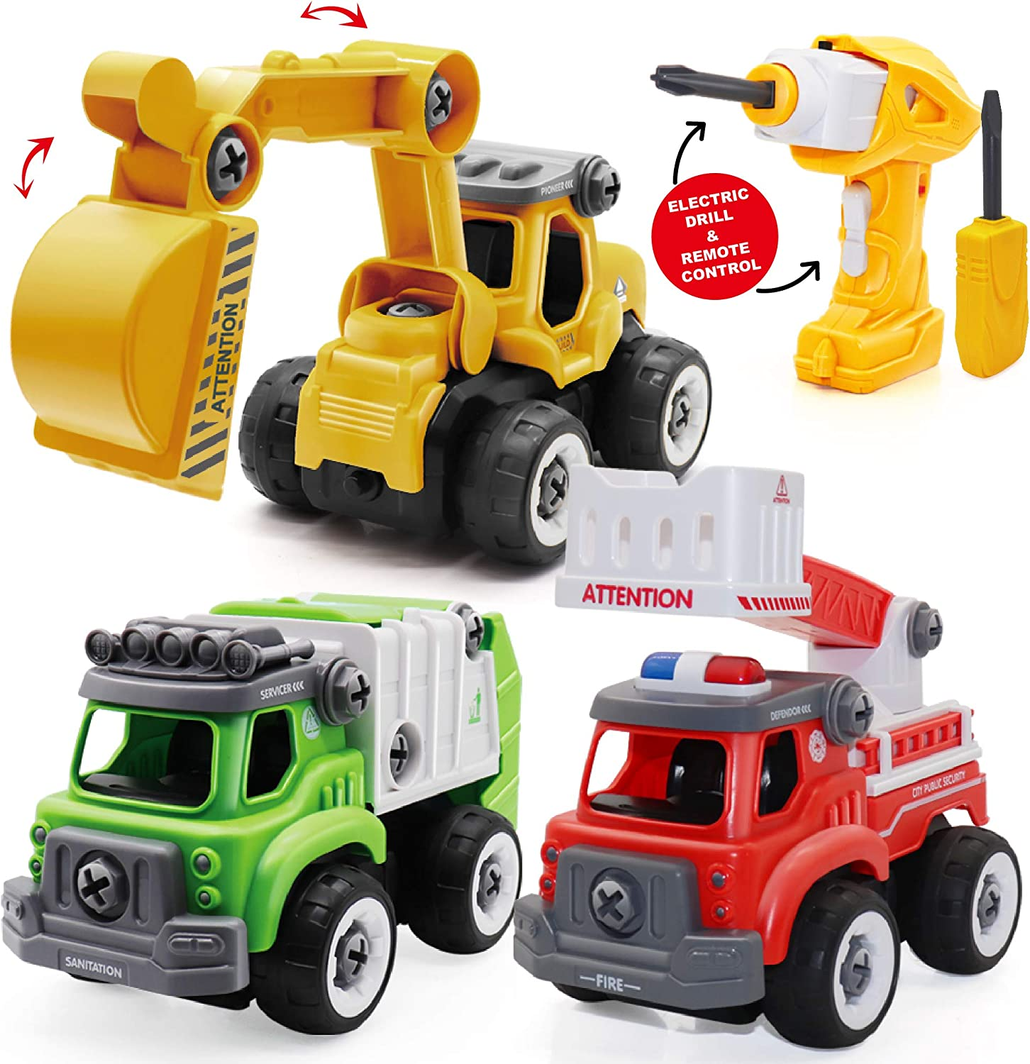 Take Apart Toys for Boys and Electric Sales results No. 1 Girls Drill Quality inspection 3-in-1 R with