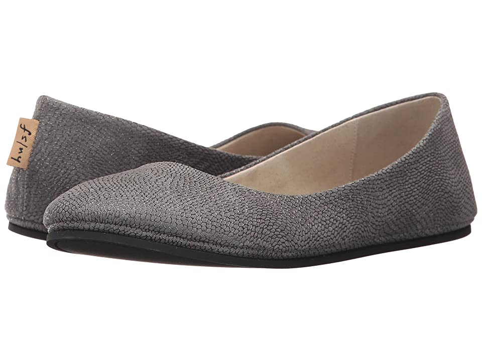 French Sole Sloop Flat (Grey Foil Print) Women