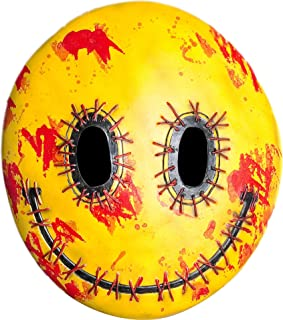 Forum Novelties Happy Mask Toy, Yellow/Red