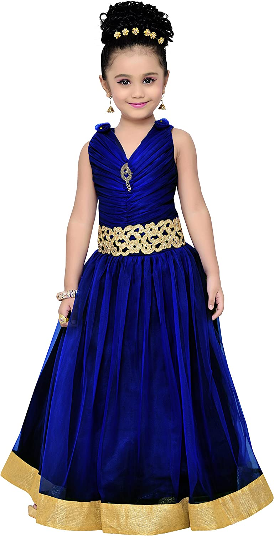 ADIVA Girls Gown Dress for Kids