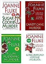 Joanne Fluke Christmas Bundle: Sugar Cookie Murder, Candy Cane Murder, Plum Pudding Murder, & Gingerbread Cookie Murder (A...