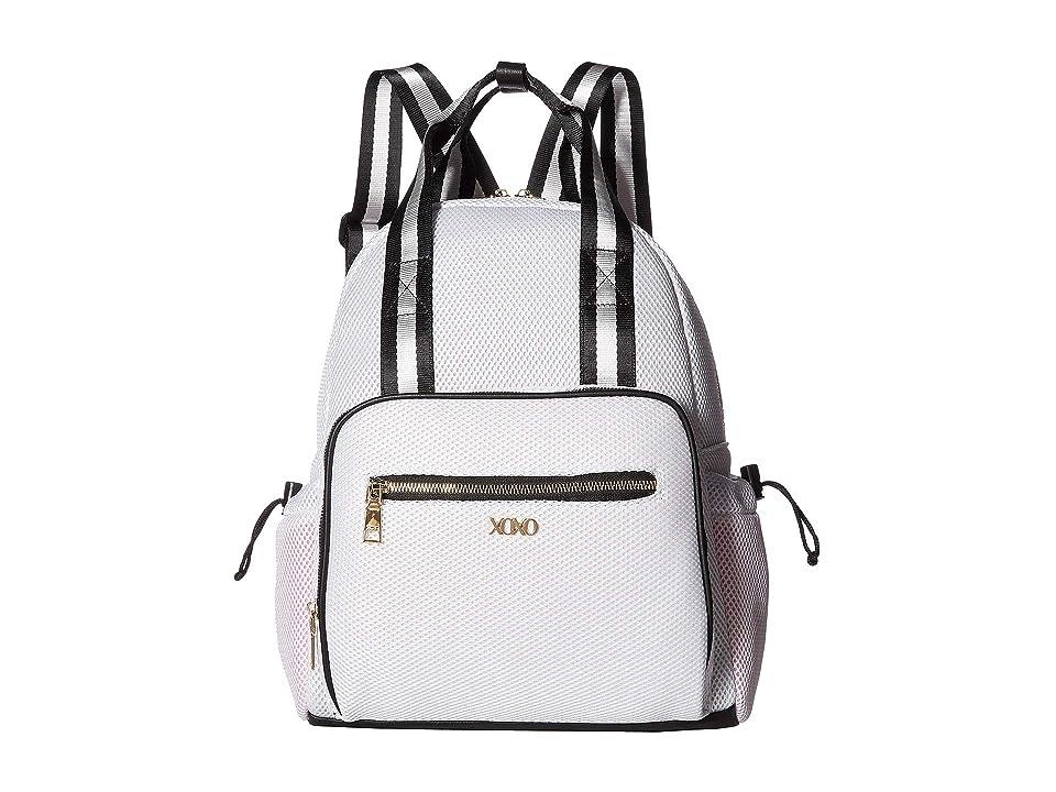 XOXO Sporty Mesh Backpack (White) Backpack Bags