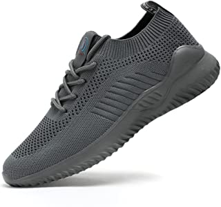 Mens Running Shoes Slip on Tennis Walking Sneakers Casual...
