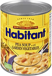 Habitant Pea With Garden Vegetable Soup, 796ml Imported from Canada