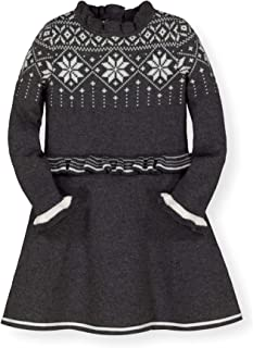 Hope & Henry Girls' Long Sleeve Sweater Dress