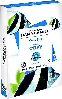 Hammermill Paper, Copy Plus Paper, 11 x 17 Paper, Ledger Size, 20lb Paper, 92 Bright, 1 Ream / 500 Sheets (105023R) Acid Free Paper