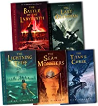 Percy Jackson And The Olympians Collection Rick Riordan 5 Books Set Pack