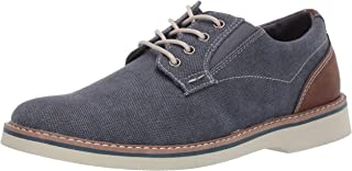 Nunn Bush Men's Barklay Canvas Plain Toe Oxford Lace Up
