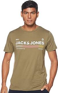 Jack & Jones Men's JCOPONY TEE SS CREW NECK FST T-Shirt