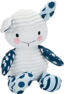Wee Believers Lil' Prayer Buddy Blue Lullaby Lamb Musical Stuffed Animal Plays Jesus Loves Me