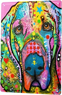 vsdvgsse Tin Sign Breed Great Dane Poster for Home Signs Metal Art Decor Wall Plate 8x12