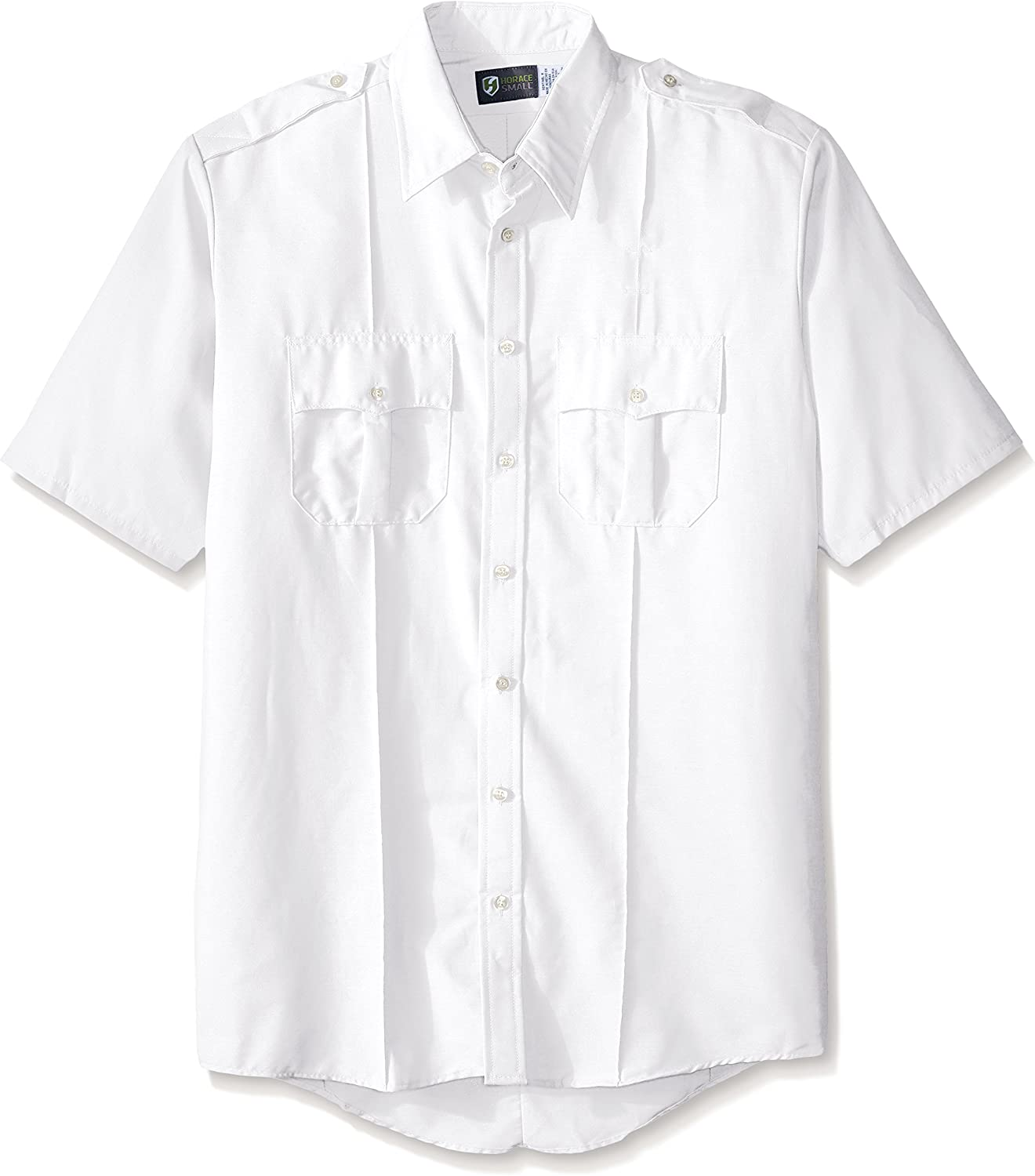 Horace Small Men's Professional Short Sleeve Security Big-Tall Shirt