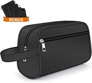 Hanging Toiletry Bag - Portable Travel Bags for Men/Women, Shaving/Grooming/Cosmetic/Toiletries, 4 Sizes Shoes Organizer Pouch for Business Trip and Vacations
