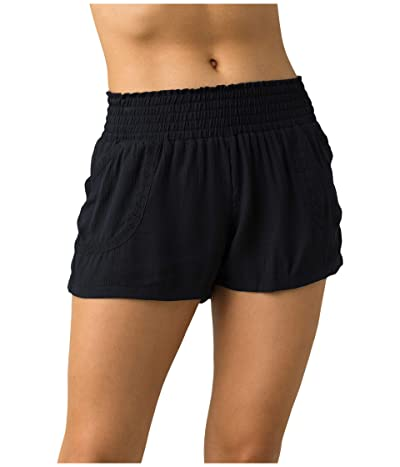 Prana Seaview Sky Shorts (Black) Women