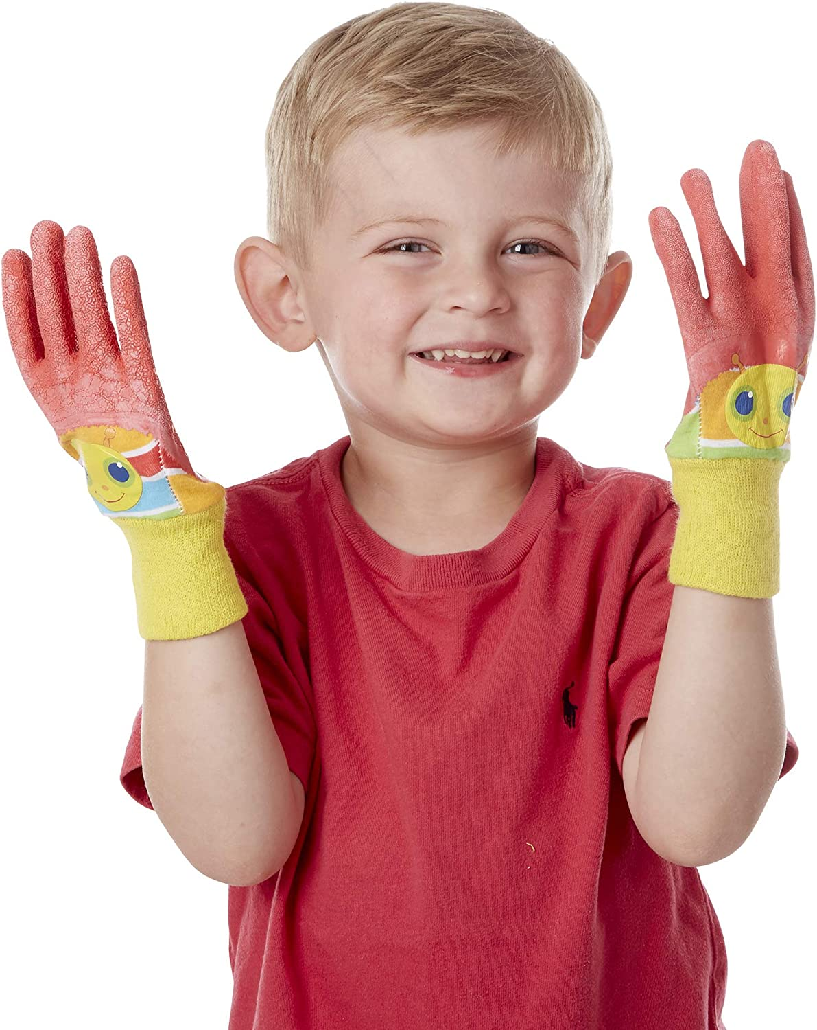 Melissa & Doug Giddy Buggy Good Gripping Gardening Gloves With Easy-Grip Rubber on Palms : Clothing, Shoes & Jewelry