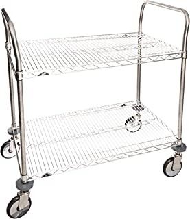 Best uline stainless steel cart Reviews
