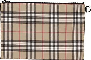 Luxury Fashion | Burberry Mens 8016615 Beige Clutch | Fall Winter 19
