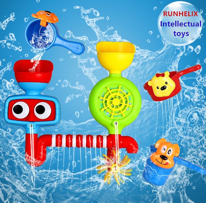 バスおもちゃ赤ちゃんのためのおもちゃ男の子の女の子のバスタブおもちゃのおもちゃのおもちゃおもしろおかしい教育教育赤ちゃんの想い出と創造性