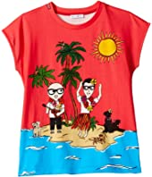 Dolce & Gabbana Kids - D&G Piggies Vacation T-Shirt (Big Kids)
