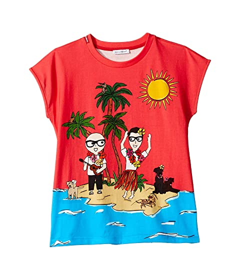 Dolce & Gabbana Kids D&G Piggies Vacation T-Shirt (Big Kids)