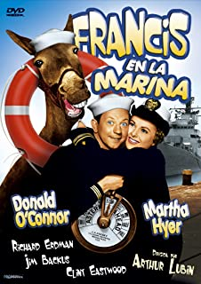 FRANCIS IN THE NAVY (Fancis en la marina) Region 2 - PAL - Clint Eastwood